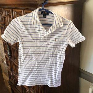 Polo shirt by Ralph Lauren Polo. Age 8